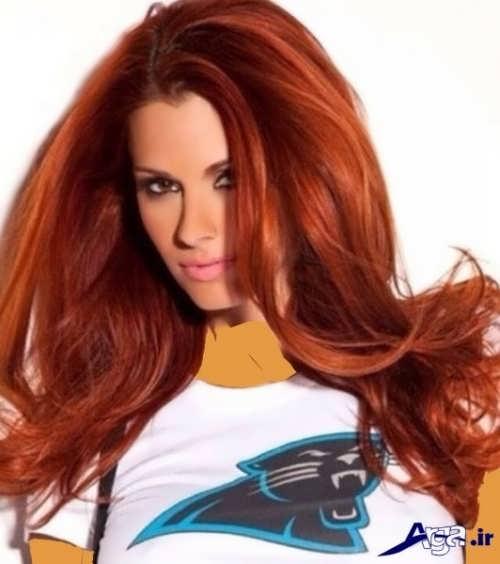 ترکیب ها و مدل های رنگ موی مسی
