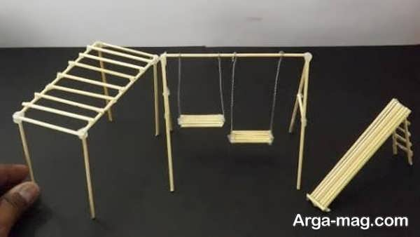 مدل کاردستی چوبی جدید