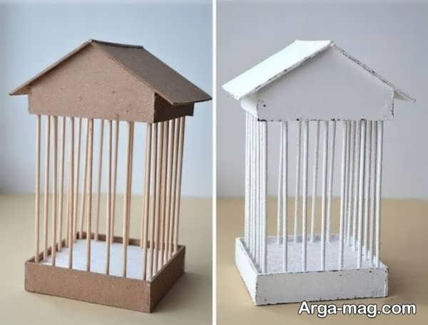 مدل کاردستی چوبی قشنگ