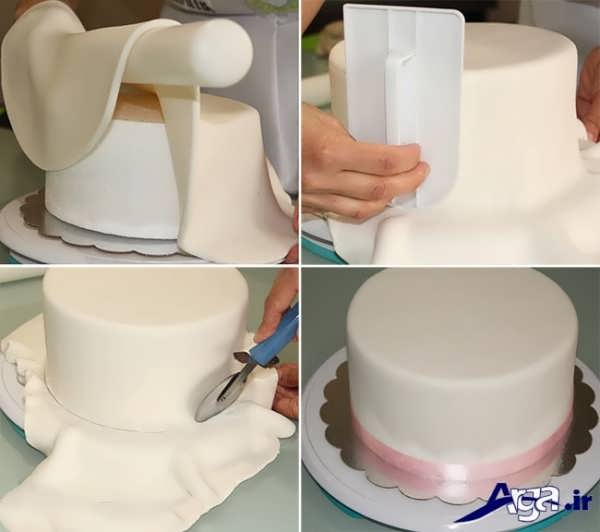 How To Decorate Cake With Icing And Fondant