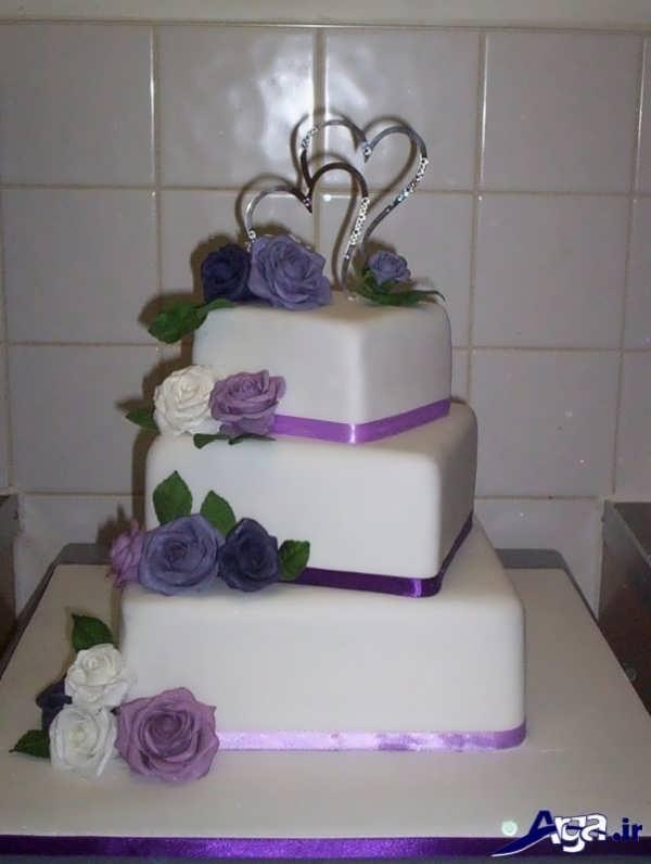 مدل تزیین کیک عروسی