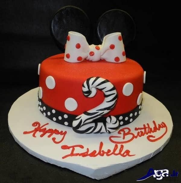 تزیین کیک زیبا و ساده