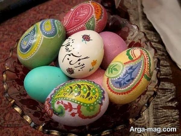 مدل تزیینات تخم مرغ