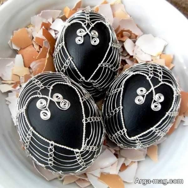 مدل تزئینی جالب از تخم مرغ