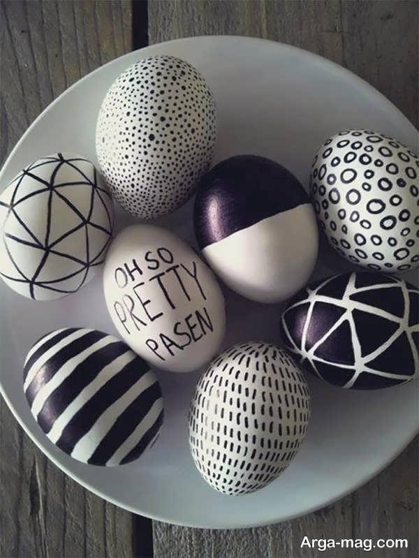 تزیین تخم مرغ خلاقانه
