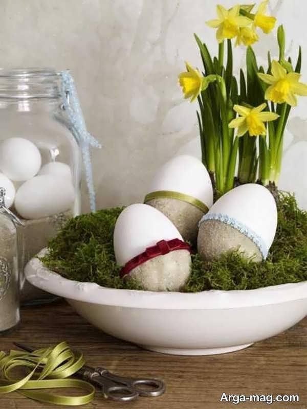 تزیینات تخم مرغ زیبا