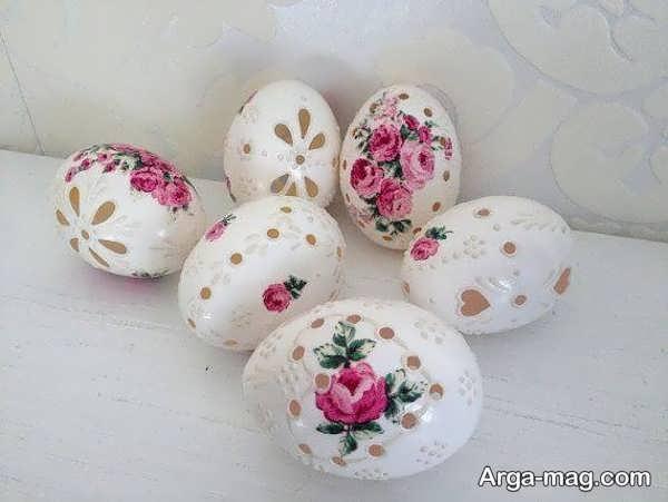 تزیین تخم مرغ جذاب