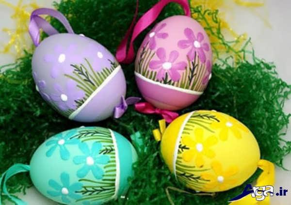 تزیین تخم مرغ سفره هفت سین