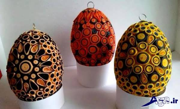 تزیین ساده تخم مرغ