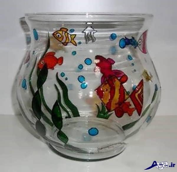 تزیین زیبای تنگ ماهی