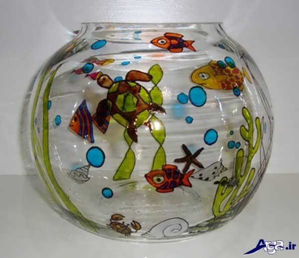 تنگ ماهی شیشه ای