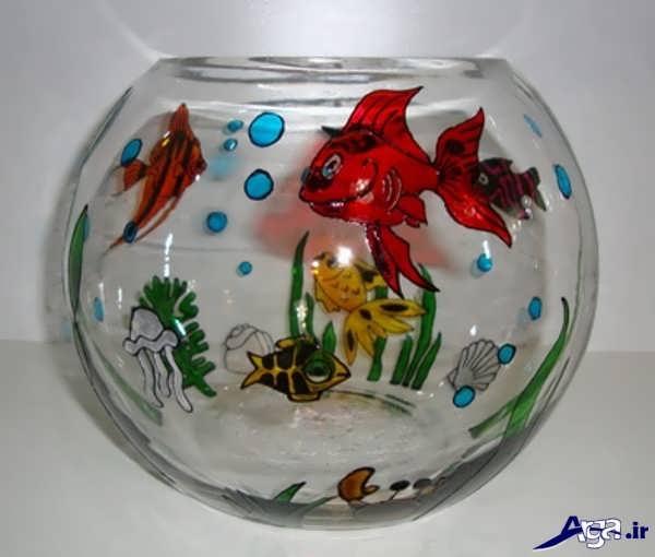 تزیینات زیبای تنگ ماهی