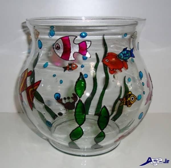تزیین تنگ ماهی عید نوروز