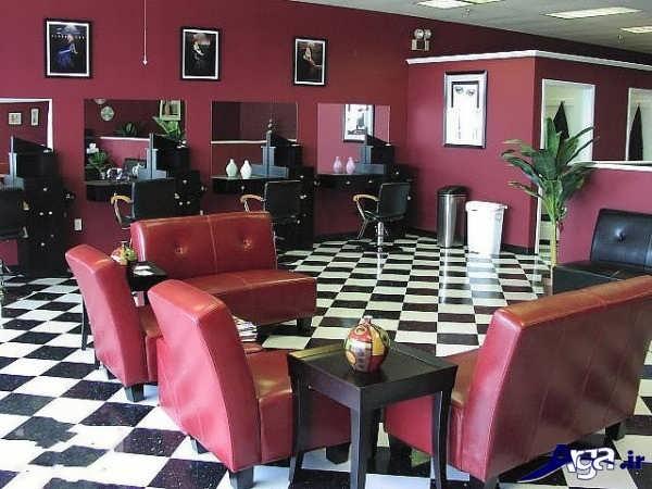 دکوراسیون آرایشگاه کوچک