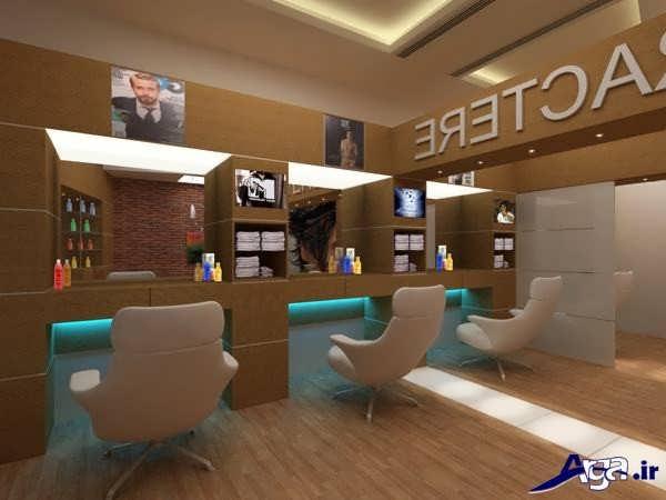 دکوراسیون جدید آرایشگاه مردانه