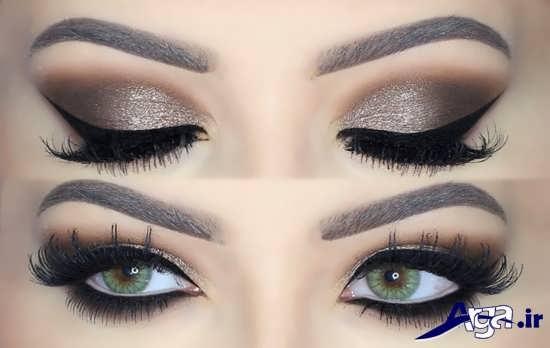 مدل آرایش چشم شیک و مدرن