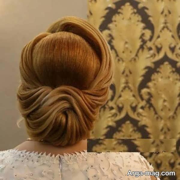 شنیون زیبای موی فرحی