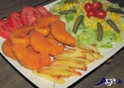 طرز تهیه ماهی سوخاری در منزل
