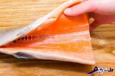 ماهی تمیز شده