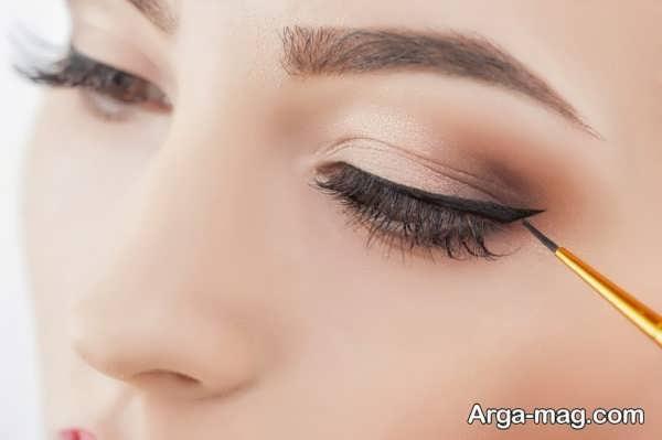 مدل خط چشم دخترانه جذاب