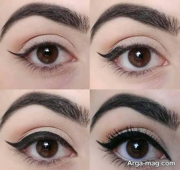 مدل خط چشم دخترانه خاص