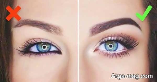 مدل زیبای خط چشم دختران