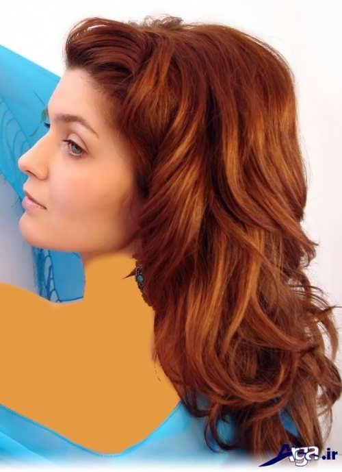 انواع مدل های رنگ مو بریا افراد سبزه