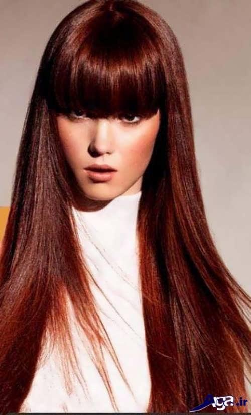 مدل های رنگ موی شاده بلوطی