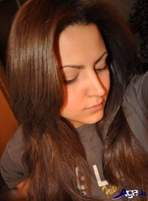 رنگ مو برای پوست گندمی