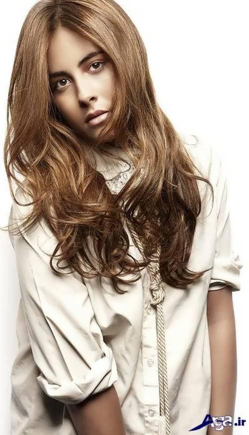رنگ موی دخترانه برای پوست گندمی