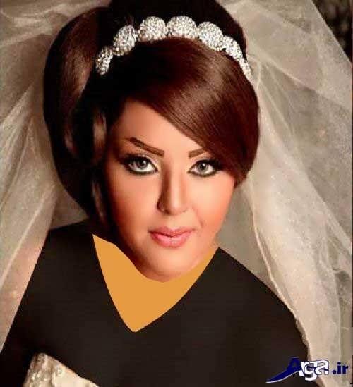 رنگ موی زیبا برای عروس