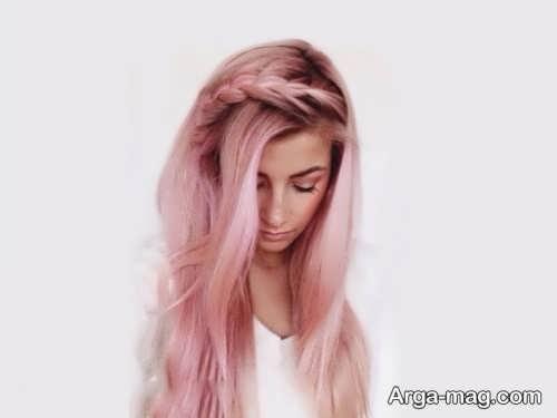 رنگ موی صورتی