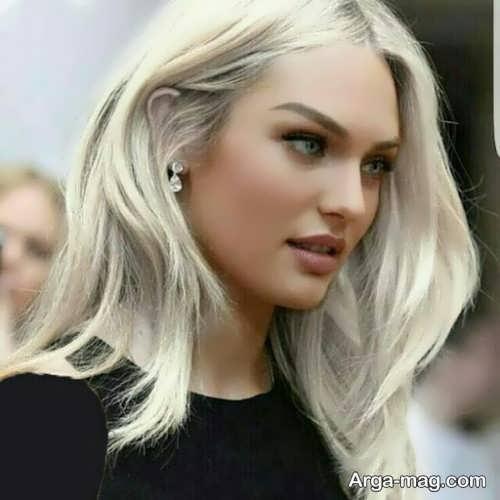 رنگ مو شیری برای افراد با رنگ پوست گندمی