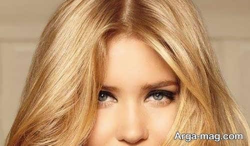 رنگ مو عسلی برای پوست گندمی