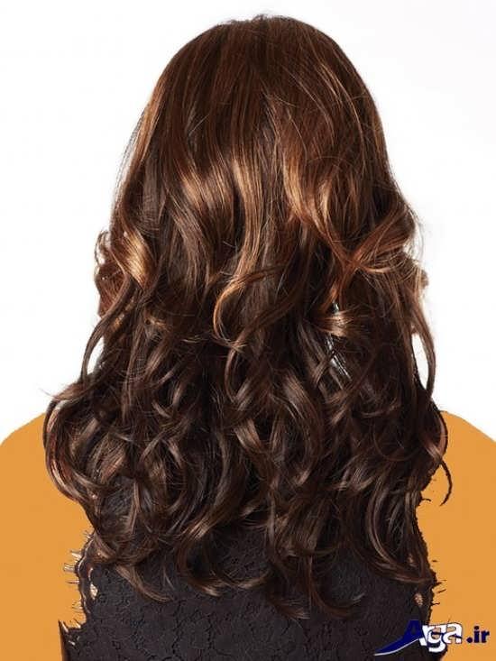 مدل رنگ موی فندقی شیک