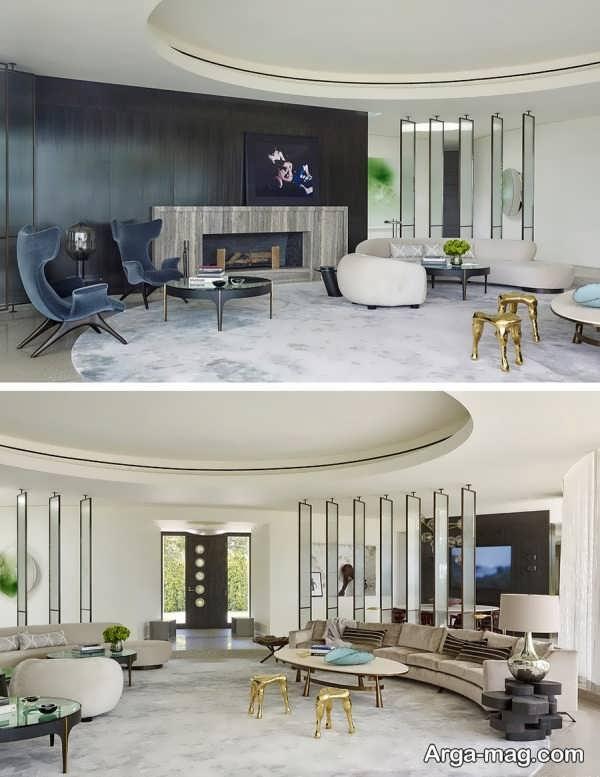 مدل متفاوت پارتیشن خانه