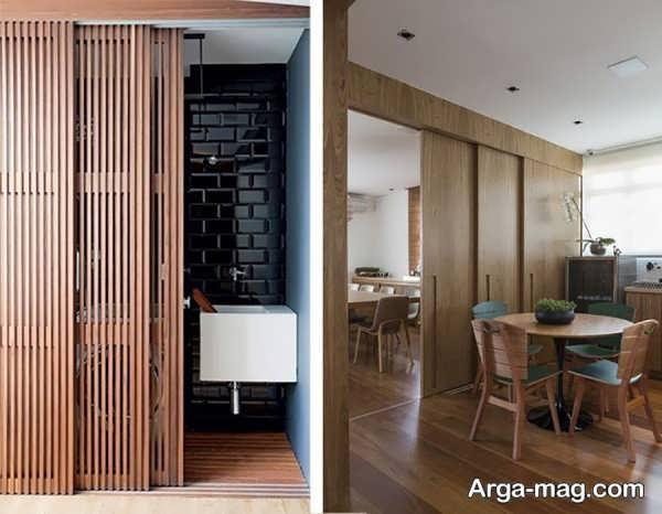 مدل جذاب پارتیشن خانه