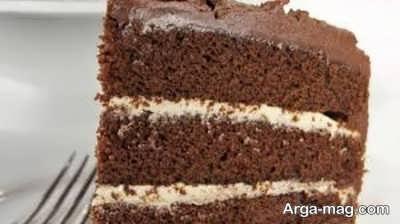 دستور تهیه کیک خامه ای شکلاتی