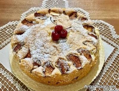 آموزش تهیه کیک سیب