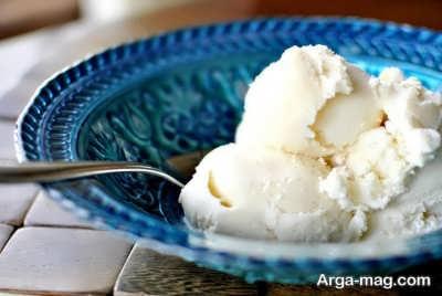 نحوه تهیه بستنی وانیلی خانگی