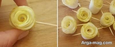 دستور تهیه مربای بالنگ به شکل گل
