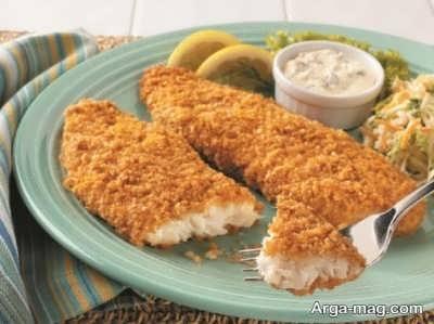 طرز تهیه ماهی سوخاری پفکی