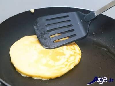 سرخ کردن پنکیک