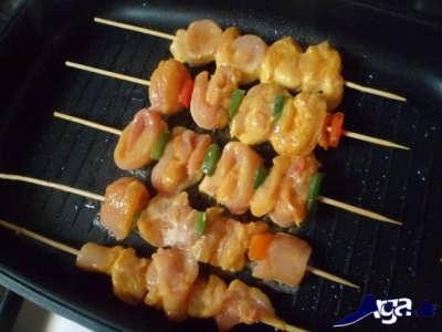 طرز تهیه کباب مرغ چوبی خوشمزه