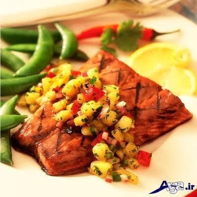 ماهی سالمون با طرز تهیه ای آسان