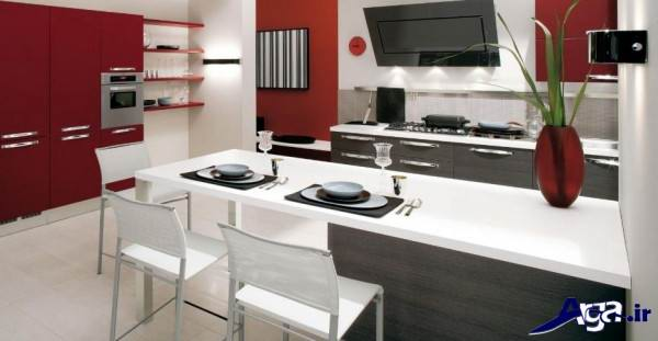 دکوراسیون مدرن آشپزخانه