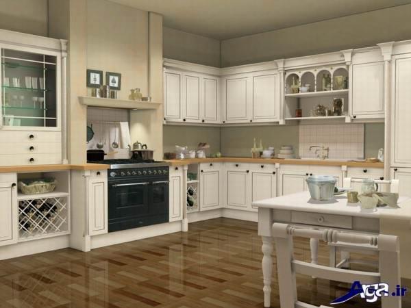 دکوراسیون آشپزخانه زیبا و جدید