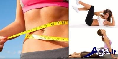 اثرات ورزش در لاغری شکم