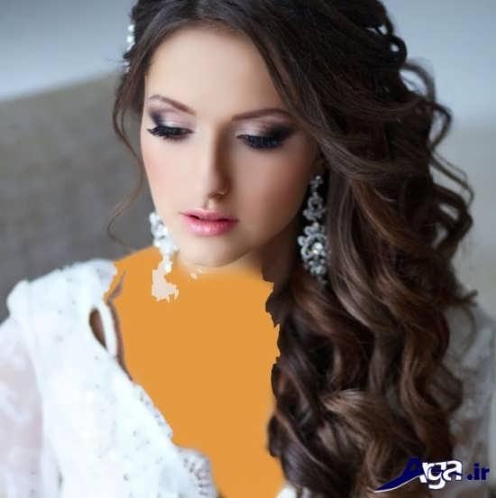 مدل های متنوع و زیبا میکاپ عروس جدید