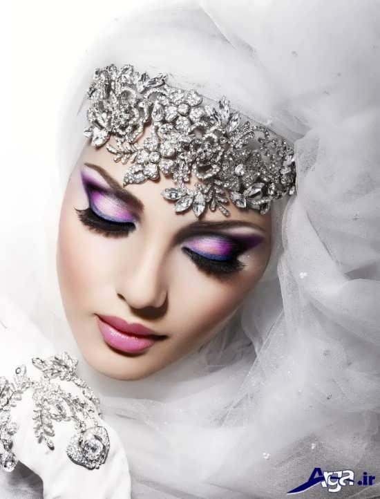 مدل های زیبا آرایش عروس